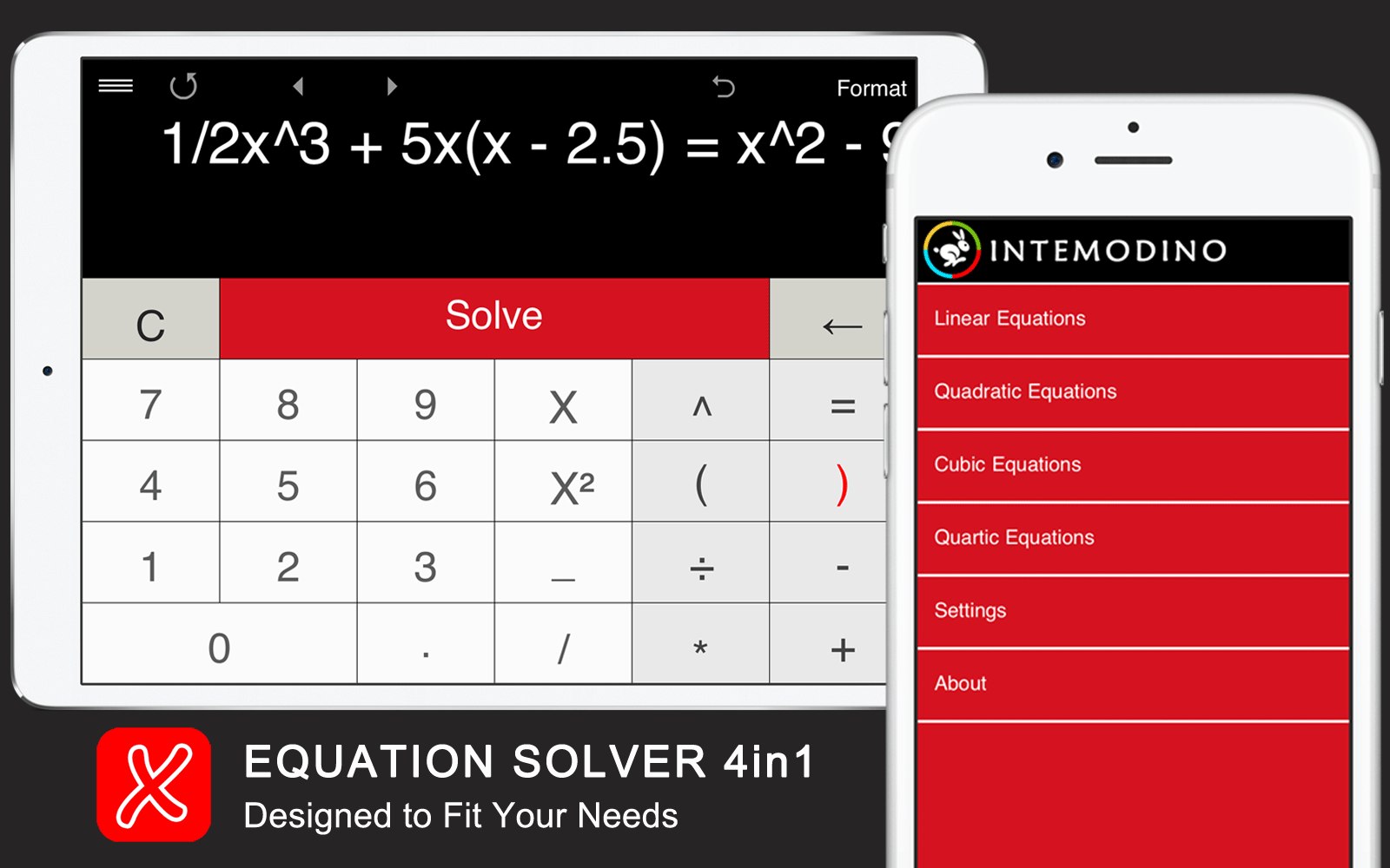 Equation Solver 4in1